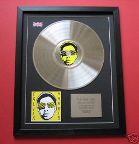 CALVIN HARRIS - I Created Disco CD / PLATINUM PRESENTATION DISC